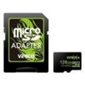Карты памятиVerico 128 GB microSDXC Class 10 + SD adapter VFE3-128G-V1E