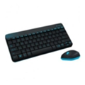 Клавиатуры, мыши, комплекты Logitech Wireless Combo MK240 Black USB