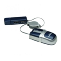 Клавиатуры, мыши, комплекты Manhattan MM5 Optical Mobile Nano Mouse (177559) Black-Silver USB