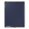 Чехлы и защитные пленки для планшетовXtremeMac Leather Microshield SC для iPad 2 синий (PAD MC2L-23)