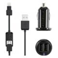 Зарядные устройства для мобильных телефонов и планшетовScosche strikeDRIVE pro 12W + 12W (I2MC242M)