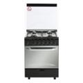 Fresh Italiano 60x60 (I60G5) black st.st. top