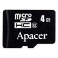Карты памятиApacer 4 GB microSDHC Class 4 AP4GMCSH4-RA