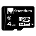 Карты памятиStrontium 4 GB microSDHC Class 6 SR4GTFC6R