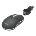Клавиатуры, мыши, комплекты Manhattan MM3 Optical Mobile Micro Mouse (176873) Black USB