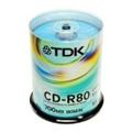 Диски CD, DVD, Blu-rayTDK CD-R 700MB 52x Cake Box 100шт