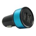 Зарядные устройства для мобильных телефонов и планшетовMaxPower Mets 2.1A+1A Black/Blue (33841)