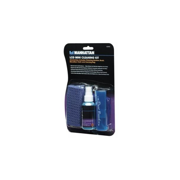 Manhattan LCD Mini Cleaning Kit (421010)