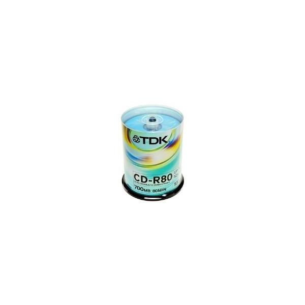 TDK CD-R 700MB 52x Cake Box 100шт