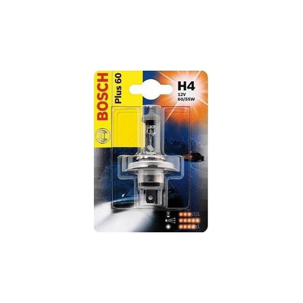 Bosch H4 Plus 60 12V 60/55W (1987302049)