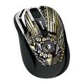 Клавиатуры, мыши, комплектыMicrosoft Wireless Mobile Mouse 3500 Artist Edition Kenzo Minami Gold-Black USB