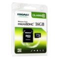 Карты памятиKingmax 16 GB microSDHC Class 10 + SD Adapter KM16GMCSDHC101A