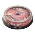Диски CD, DVD, Blu-rayTDK DVD+RW 4,7GB 4x Cake Box 10шт