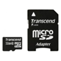 Карты памятиTranscend 32 GB microSDHC class 10 + SD Adapter