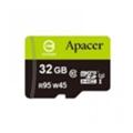 Карты памятиApacer 32 GB microSDHC UHS-I U3 + SD adapter AP32GMCSH10U3-R