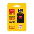 Карты памятиStrontium 16 GB microSDHC Class 10 + SD adapter SR16GTFC10A