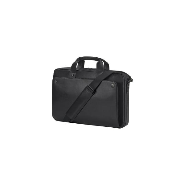 HP 17.3 Exec Leather Top Load Black (P6N25AA)