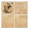 Керамическая плиткаGolden Tile Анастасия Декор 200x200 Бежевый (Л21331)