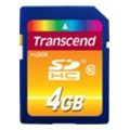 Transcend 4 GB SDHC Class 10