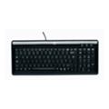 Клавиатуры, мыши, комплектыLogitech Ultra-Flat Keyboard Black USB+PS/2