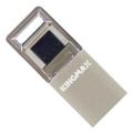 USB flash-накопителиKingmax 16 GB PJ-02 Silver KM16GPJ02