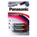 Panasonic AA bat Alkaline 2шт Everyday Power (LR6REE/2BR)