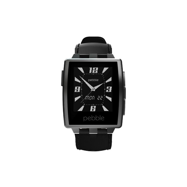 Pebble Watch Steel Black Matte