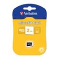 Карты памятиVerbatim 2 GB microSD (44001)