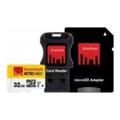 Карты памятиStrontium 32 GB microSDHC Class 10 USH-I Nitro 3в1 SRN32GTFU1C
