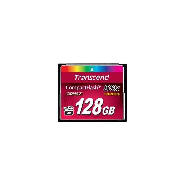 Transcend 128 GB 800X CompactFlash Card TS128GCF800