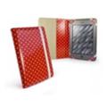 Tuff-luv Slim-Stand для iPad 2/3 Polka-Hot Red