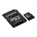 Карты памятиKingston 16 GB microSDHC Class 10 UHS-I + SD Adapter SDC10G2/16GB