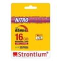 Карты памятиStrontium 16 GB microSDHC Class 10 USH-I Nitro SRN16GTFU1R