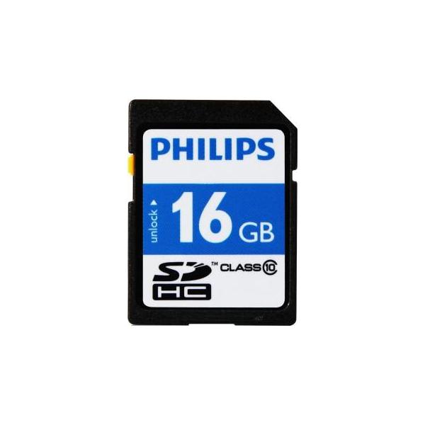 Philips 16 GB SDHC class 10 FM16SD45B/97