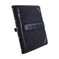 Tuff-luv Multi-View для iPad 2/3 Charcoal Black (E4_24)