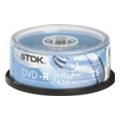 Диски CD, DVD, Blu-rayTDK DVD-R 4,7GB 16x Cake Box 25шт