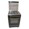 Кухонные плиты и варочные поверхностиFresh Forno 55x55 (F55G5) black st.st. top