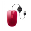 Клавиатуры, мыши, комплекты Belkin Retractable Comfort Mouse F5L051 Red USB