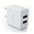 Зарядные устройства для мобильных телефонов и планшетовFonemax X-Power DualUSB Travel Charger White (FM-XP-AC200WH)