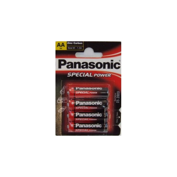Panasonic AA bat Carbon-Zinc 8шт Special (R6BER/8P)