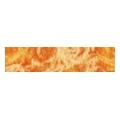 Rako ORCHIDEA oranzova listela 19,8x4,5 (WLAD2001)
