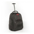 "Verbatim Paris Notebook Backpack Roller 17"" Black (49852)"