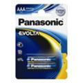 Аккумуляторы, батарейкиPanasonic AAA bat Alkaline 2шт EVOLTA (LR03EGE/2BP)