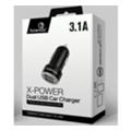 Зарядные устройства для мобильных телефонов и планшетовFonemax X-Power DualUSB Car Charger Black (FM-XPC-F18BK)