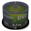 Firtech DVD-R 4,7GB 16x Cake Box 50шт Mate Silver (90030)