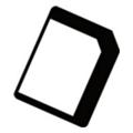 Аксессуары для планшетовCellular Line NanoSIM-MicroSIM адаптер (NANOMICROSIMADAPT)