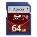 Карты памятиApacer 64 GB SDXC Class 10 UHS-I AP64GSDXC10U2-R