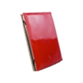 Tuff-luv Slim Book A7_27 Shiny Red