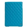 Чехлы и защитные пленки для планшетовJisoncase Quilted Leather Smart Case for iPad Air Blue JS-ID5-02H40