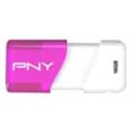 PNY 16 GB Compact Attache Pink (FDU16GBA3CP-EF)